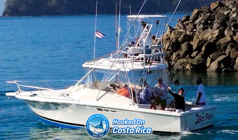 Costa Rica offshore fishing charter in Jaco