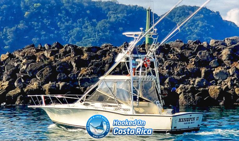 Herradura Costa Rica deep sea fishing boat