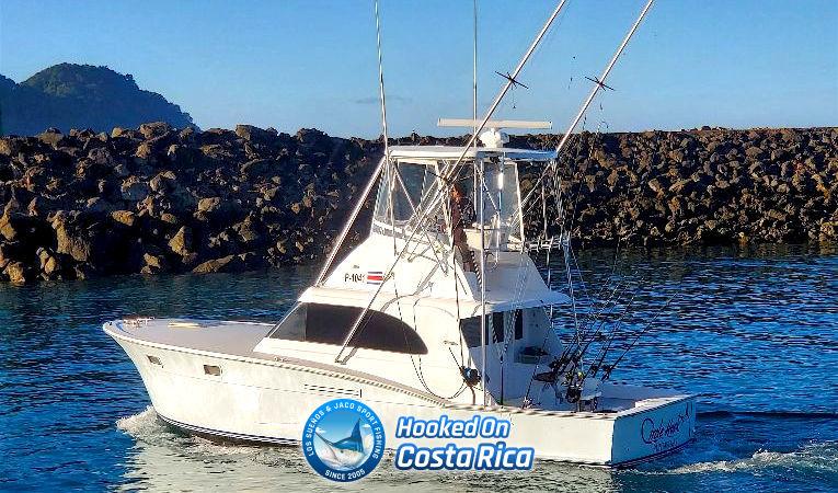 Top producing Jaco fishing charter boat in Los Suenos Marina
