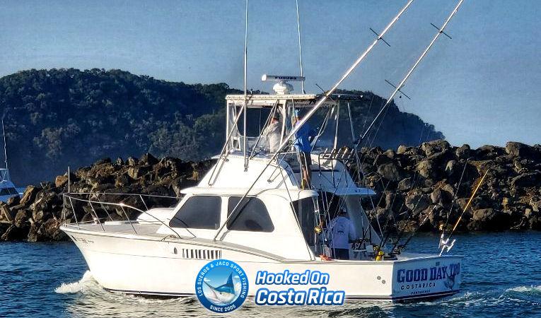 Hattera Deep Sea Fishing Charter with Tournament seasoned captain in Costa Rica