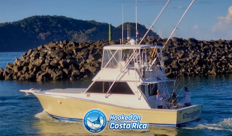 Los Suenos Fishing Charter in Jaco Costa Rica