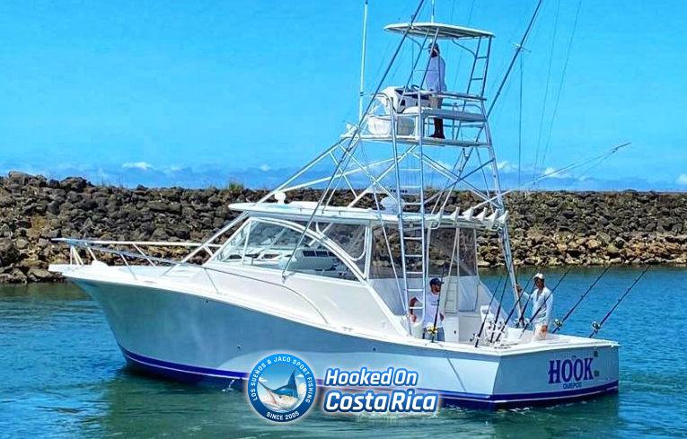 Jaco Deep sea fishing charter boat sailing from Los Suenos Marina