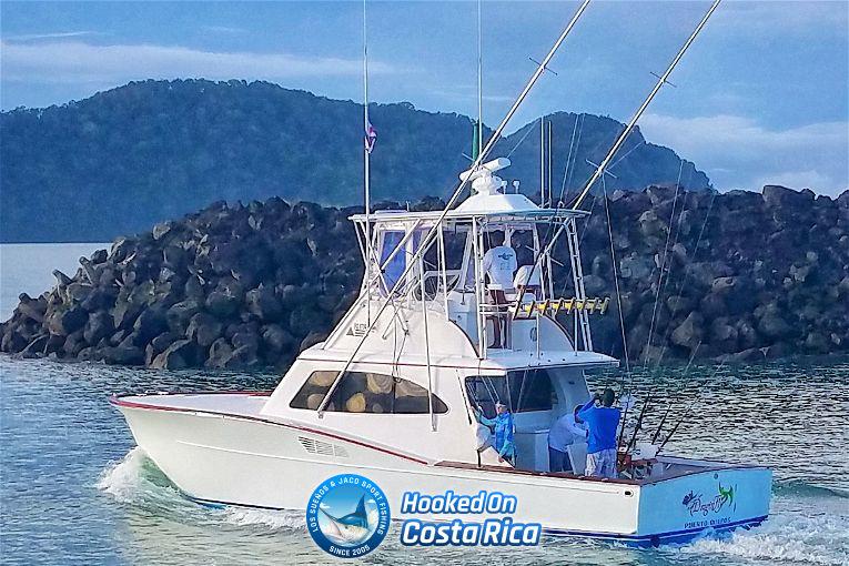 Sportfish Boat Charter in Los Suenos Marina Resort Costa Rica