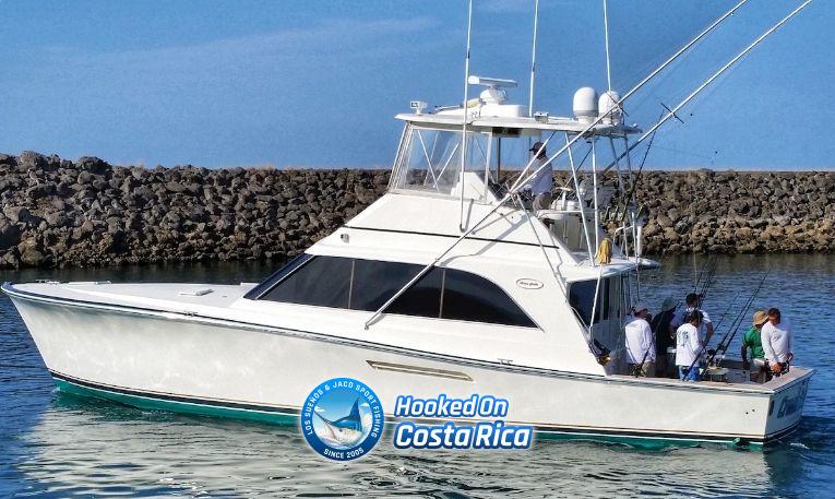 Luxury Big Game Sport Fishing Charter in Los Suenos Marina Costa Rica