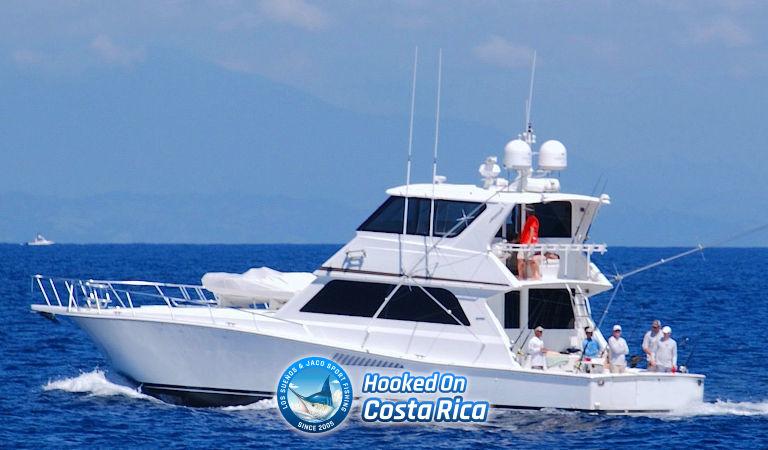 60 Viking Luxury Fishing Charter in Los Suenos Costa Rica