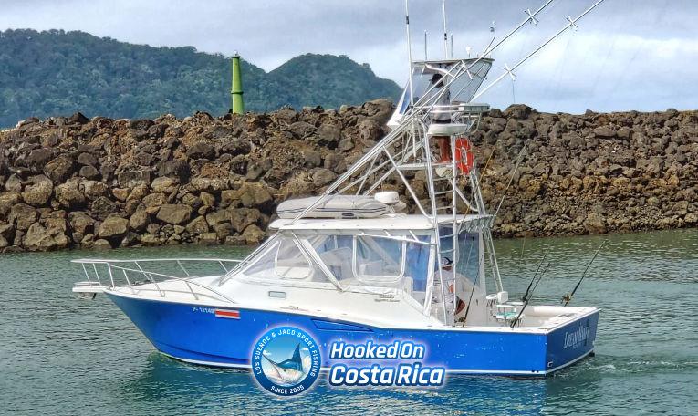 35 Feet Fishing Charter Boat Costa Rica