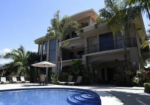 Fishing vacation rental mansion in Jaco Beach Costa Rica